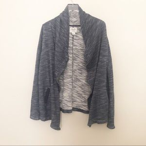 Lucky Brand Lotus Open Front Waterfall Cardigan